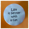 """""""Life is better with a cat"""" (Timothy Valentine) Tags: 2018 0418 coin macro c m datesyearss home eastbridgewater massachusetts unitedstates us"""