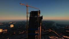 Skyscraper | GTAV (Razed-) Tags: skyscraper skyline evening los angeles california grand theft auto v gtav rockstar games naturalvision remastered graphics mod