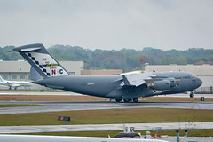 SZP_0033_pslr5 (Lakeside Annie) Tags: 04072018 2018 20180407 55300mm 55300mmf4556 ang airforce airnationalguard april7 c17 cdia clt charlotte charlotteairnationalguard charlottedouglasinternationalairport charlottenc d7100 leannefzaras nikkor55300mmf4556 nikkor55300mm nikon nikond7100 northcarolina northcarolinaairnationalguard sarazphotography saturday airport plane planespotting