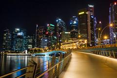 Lion City   Singapore (goudreault.v) Tags: singapore asia travel sony lion city bridge river merlion