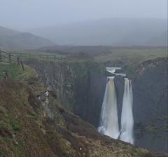 Hartland Falls (EmPhoto.) Tags: spekesmillmouthfalls doublewaterfall uk devon mist rain dawn holiday hike adventure sonya7r emmiejgee landscapepassion hartlandquay southwestcoastpath