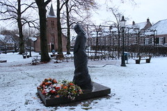 Look back winter 2017 / Tilburg: Hasselt Chapel, built in 1536. (♥ Corry ♥) Tags: sneeuw