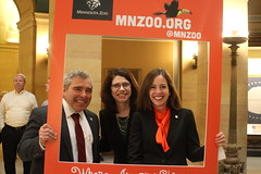DFL Senators at MN Zoo Day at the Capitol
