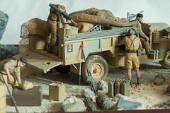 Long Range Desert Group (LRDG) (Tamiya 1/35 scale model) (tik_tok) Tags: lrdg scalemodel model military miniature 135 tamiya diorama