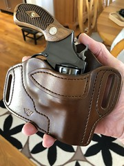 .38 and holster (MarkGregory007) Tags: sw 38 holster