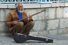 street musician Tehran (peter.velthoen) Tags: street muzikant tehran iran golestanpalace citar მუსიკოსი setar سیتار نوازنده خیابانی gishgudi