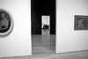 Three Pictures of Women (chantsign) Tags: women portraits museum whitney entrance floors walls gallery paintings doorway blackandwhite monochrome