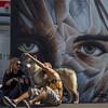 Amici (emilype) Tags: img41361 attimi amici friends selfie milan milano darsena graffiti murales estate urbanjungle ilmuro arte art tatuaggio tattoo