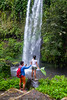 Stand right here (Stinkee Beek) Tags: adi waterfall erin lombok