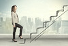Business woman climbing up on hand drawn staircase concept (aliceheiman) Tags: success career business stairs staircase ladder businesswoman woman climbing up promotion stairway growth steps development step job walking work rise progress achievement leadership male climb caucasian successful way write project entrepreneur wall young chalk professional ambition drawing confident concept person goal finance idea office people sketch briefcase stair opportunity