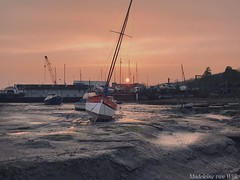 The perfect sunset (MadeleineVanWijkPhotography) Tags: pastelsky harbour fishingtown essex sailboat sunset