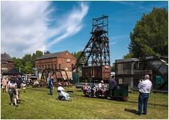 Lancashire Mining Museum, Astley Green, steam fair (Pitheadgear) Tags: lancashire lancashireminingmuseum astley astleygreen astleygreencolliery coal mine mining colliery pit
