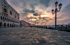 Venice (andreasmally) Tags: venice venedig venezia italien italy st marks square sunrise dogenpalast