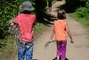Walking Together (Vegan Butterfly) Tags: outside outdoor whitemud ravine nature reserve children kids friends together walk walking homeschool homeschooling wild sage