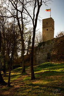 Unter der Burg Königstein