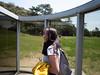 """Naoshima Island - Inside Dan Graham """"Cylinder Bisected by Plane"""" (elveatles) Tags: japan kagawa naoshima naoshimaisland dangraham"""