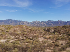 Honey Bee Park - Tucson, AZ (dji spark) (mattybecks3) Tags: tucson az arizona catalina oro valley cactus cacti mountains moon big sky desert landscape nature ngc natgeo