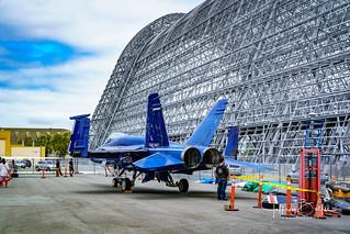 Navy F-18 at NASA AMES