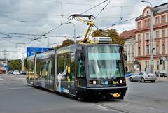 Plzeň, Sady Pětatřicátníků 19.10.2016 (The STB) Tags: tram tramway strassenbahn strasenbahn publictransport citytransport pilsen öpnv