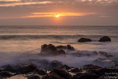 Machrihanish Bay at dusk (Dave2638) Tags: 2018 scotland kintyre april machrihanish bay slow shutter evening dusk low light