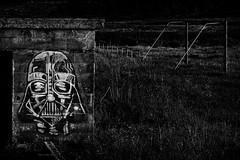 Lord Vader en Lariño (Feans) Tags: sony a7r a7rii darth vader lariño carnota galiza galicia louro graffiti street art