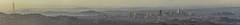 upper radio road panorama (pbo31) Tags: bayarea california nikon d810 color april 2018 spring boury pbo31 sanfrancisco city urban panoramic large stitched panorama salesforce skyline sanbrunomountian fog mist view over sunset sutro tower baybridge eastenspan sanmateocounty