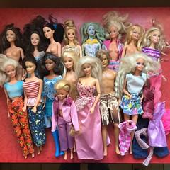 Flea Market Finds : 05-01-2018 (Part 1) (MyMonsterHighWorld) Tags: barbie raquelle ken blaine fairytopia doll mattel fashionistas teresa renee 3 musketeers mod tnt nutcracker