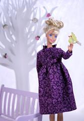 Kindertags Barbie doll (alenamorimo) Tags: barbie barbiedoll doll barbiecollector