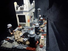 "LEGO M.O.C. ""The Defense Of Berlin""  P.S. Did specifically for the contest (A.V.V.) Tags: thedefenseofberlin moc lego ww2"