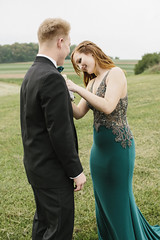 Veronica & Shane [05.12.18] (Andrew H Wagner   AHWagner Photo) Tags: 5dmk3 5d3 5dmkiii 5dmarkiii 5dmark3 canon eos 50l 50mm f12 f12l bokeh dof prom mvhs maryland carrollcounty highschool couple portrait people person dress suit tux