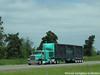 George Van Dyke Trucking Peterbilt 389 (Michael Cereghino (Avsfan118)) Tags: gvd george van dyke trucking peterbilt 389 4 axle quad heavy haul hauler curtain semi truck sleeper