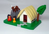 The Bullgirls (vitreolum) Tags: lego vitreolum vignette microscale bullgirls
