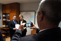 22/05/18 - Visita do vice-prefeito de Camaquã/RS, Jair Martins
