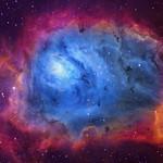 The Lagoon Nebula (M8) imaged in SHO thumbnail