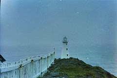 Cape spear. (autoworks31) Tags: lighthouse 50mm 400iso kodak film ae1 canonae1