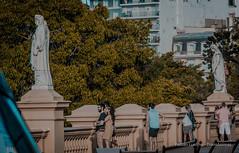 Atardecer en Recoleta - Buenos Aires 3 (TransÁnimas) Tags: buenos aires street sunrise outside urban
