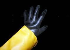 At the beach (essex_mud_explorer) Tags: gloves gauntlets marigoldemperor me107 hellyhansen nusfjord raincoat