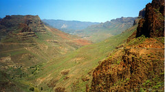 Gran Canaria interior (M McBey) Tags: canaryislands grancanaria mountains interior rugged nikkormat kodachrome
