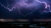Burza nad Burzynem #2 (mirosławkról) Tags: poland biebrza burzyn water sky clouds sundown thunder lightning rain river storm nikonnaturephotography