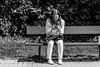 Felicidad Digital (144/365) (Walimai.photo) Tags: jesuitas parque park salamanca spain street calle candid robado black white blanco negro byn bw branco preto blanc noir lx5 lumix panasonic portrait retrato