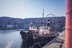 Architecture (Ollie Smith Photography) Tags: architecture merseyside liverpool may nikon d7200 sigma1750 28 lightroomcc albertdock water tugboats outdoors