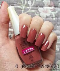 Esmalte Rosa Antigo, da Colorama. (A Garota Esmaltada) Tags: agarotaesmaltada unhas esmaltes nails nailpolish manicure rosaantigo colorama rosa pink