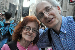 oldfriends (greenelent) Tags: notrump protest demonstration riseandresist streets people activists nyc newyork