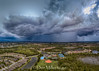 Unstable air in front of Alberto (DonMiller_ToGo) Tags: mavicpro drone panoimages9 nature thunderstorm sky aerial outdoors florida clouds venice unitedstates us