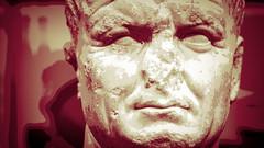 london-1-230518 (Snowpetrel Photography) Tags: britishmuseum london olympusem5markii olympusm45mmf18 romanart romanemperors busts classicalart classicalworld portraitbust portraits sculpture england unitedkingdom