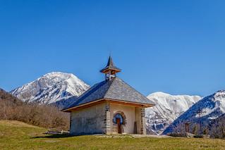 Chapelle de la Lésine - Massif des Bauges (Jarsy) - Savoie (04/2018)