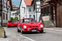 Ferrari 330 GTO (Nico K. Photography) Tags: ferrari 330 gto 458 speciale a red classic supercars combo nicokphotography switzerland dachsen