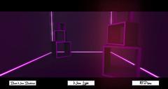 [OS] Basic Neon box: Backdrop (мarveloυѕ creaтιonѕ) Tags: second life game neon backdrop blender build uvmapping basic box