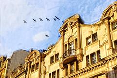 DSC_8vvv873 London (camera30f) Tags: england london english day daylight architecture city buildings modern history ancient rome roman sky