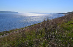 Azure surface (МирославСтаменов) Tags: russia togliatti volga slope ripple overlook water horizon